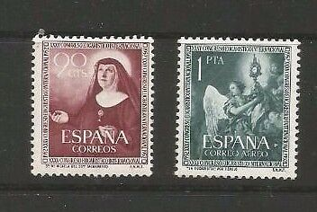 Spain,  Edifil 1116/1117 ----1952  Set Of Two----- Mnh