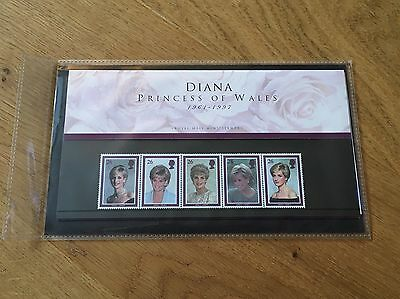 Diana Princess of Wales 1961-1997 Royal Mail mint stamps