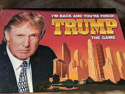 """Vintage Trump Board Game """"I'M BACK AND YOU'RE FIRED!"""""""