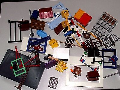 Playmobil   Large  Assortment  Of  Accessories   And   Spare   Parts.