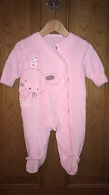 Next girls sleepsuit up to 3 months