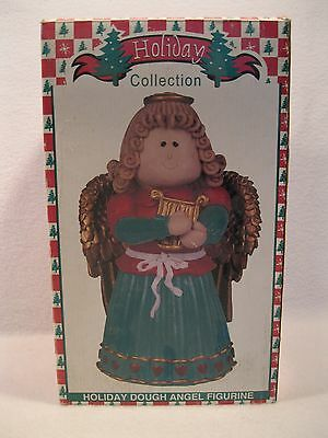 Vintage World Bazaars Inc Holiday Collection Holiday Dough Angel Figurine NEW
