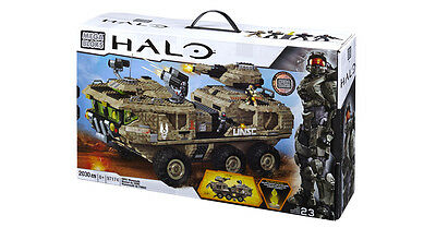 Hard to Find Mega Bloks Halo 97174 UNSC Mammoth megabloks
