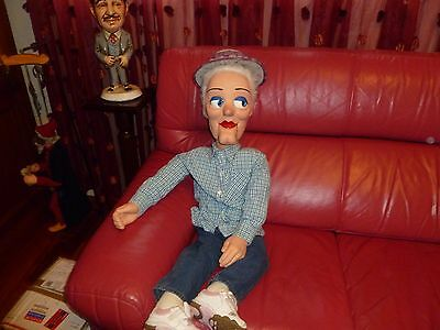 pro ventriloquist dummy doll  moving eyes,mouth