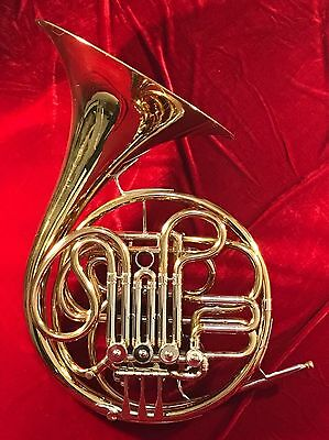 C. G. CONN LTD. DOUBLE FRENCH HORN D6. Perfect Condition!
