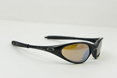 2a4fd1669c SUPER RARE Oakley Minute 1.0 Polished Black-Script Titanium Iridium  Sunglasses