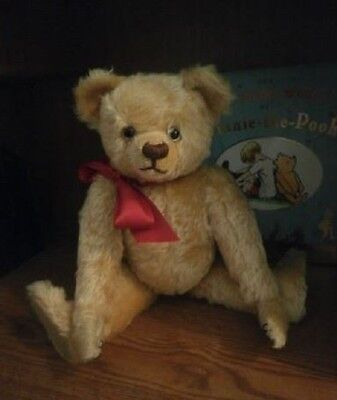 """POOH"" Mohair Teddy Bear Artist Rachel Wintle Thread Bears Farnell Reproduction"