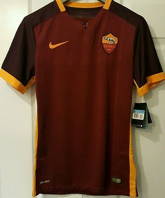 AS Roma football shirt players issue bnwt