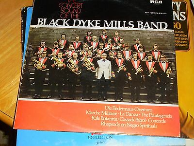 Lp/ Black Dyke Mills Band / The Concert Sound Of ...(1975 Uk Rca