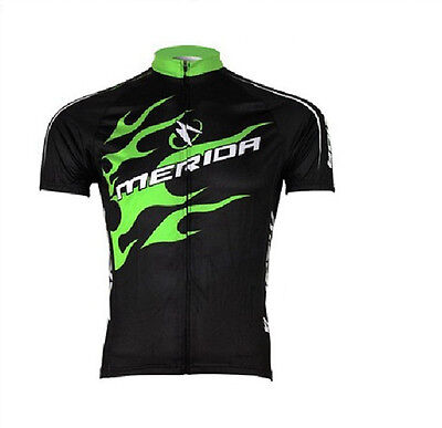 Merida Jersey Top Cycling Bike manches courtes T-shirt Vêtement de sport Maillot