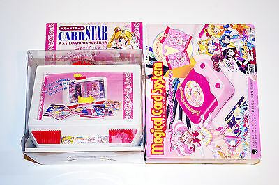 Sailor Moon SuperS Card Reader & Card Display Case with Promotional Cards