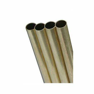 K & S Engineering Ks1149  Round Brass .014 Wall Tube 1/4 X 36In