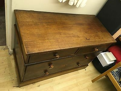 Oak Chest of Drawers - Solid.