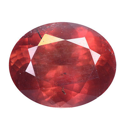 5.77 ct HUGE UNIQUE RARE NATURAL FROM EARTH MINED PINKISH RED MALAYA GARNET
