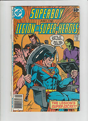 SUPERBOY and Legion of Super-Heroes #235, 255, 256 lot of 3 DC /  Whitman Comics