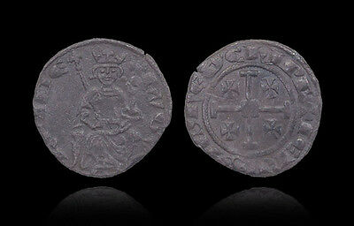 crusaders,cyprus jerusalem,silver gros of hugh iv