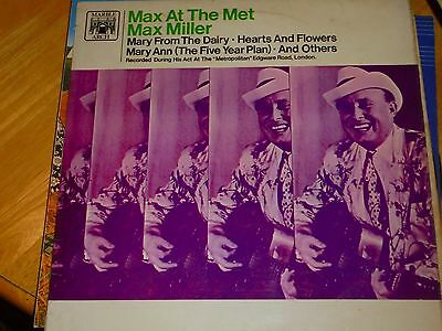 Lp/ Max Miller /max At The Met (1967 Uk Pye Marble Arch Mono