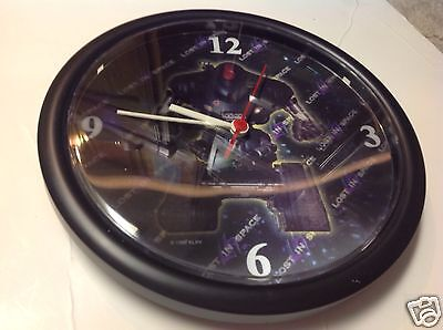 Vintage 1998 LOST IN SPACE The Movie promo promotional lenticular hologram clock