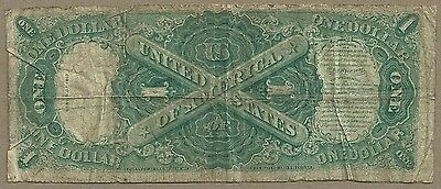 1917 $1 Us Note         Very Cheap            Low Grade Affordable 3 Of 3