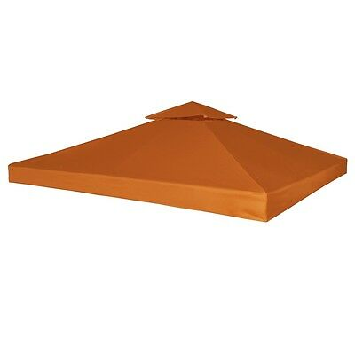 New Outdoor Gazebo Cover Canopy Top Cover Replacement 270 g / m?Terracotta 3x3m