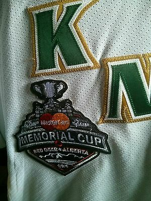 London Knights Memorial Cup Game worn 2016 jersey OHL CHL New York Rangers