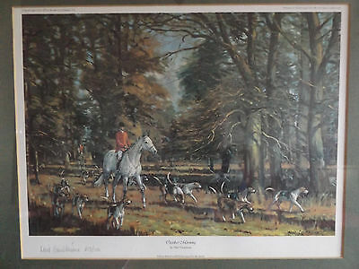 Vintage Neil Cawthorne Limited Edition Print October Morning Signed By Artist.