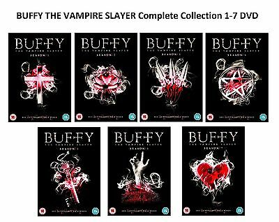 BUFFY THE VAMPIRE SLAYER Complete Collection Series 1-7 DVD Season 1 2 3 4 5 6 7