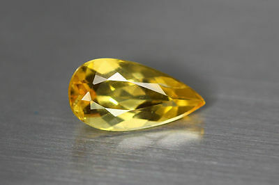 2.270 Ct Unique Dazzling Aaa Golden Yellow 100% Natural Heliodor Beryl Rare Gem!