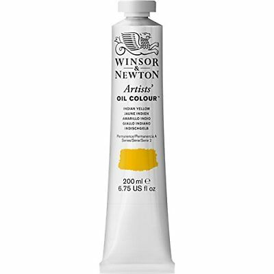 Winsor & Newton / Colart Wn1237319  Artists Oil Indian Yellow 200Ml