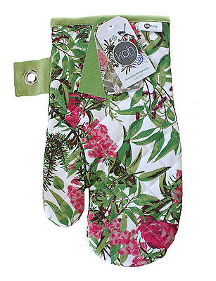 Oven Mitt/glove - Kitchen/cooking/souvenir - Australian Wildflowers Waratah