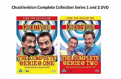 CHUCKLEVISION Complete Collection Series 1 + 2 DVD Original Chuckle Vision UK R2