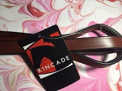 KINCADE FLAT STANDING MARTINGALE BROWN FULL SIZE HORSE 584342 bridle attachment
