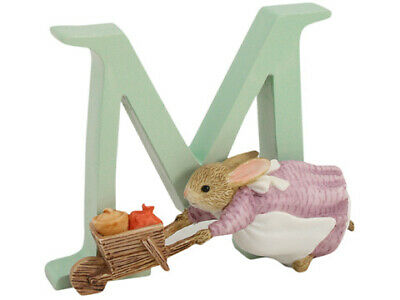 NEW Beatrix Potter Alphabet Initial M Cecily Parsley