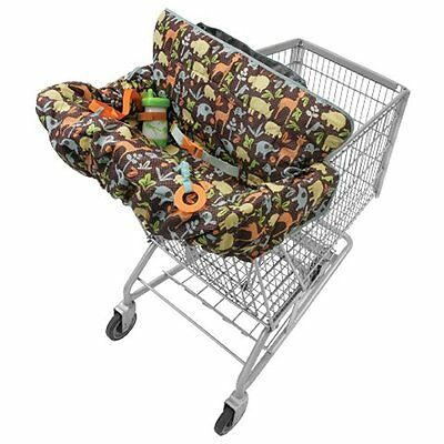 Infantino Compact 2-in-1 Shopping Cart Covers Shopping Cart Cover