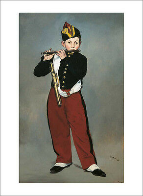 Manet - The Piper - fine art giclee print poster - various sizes
