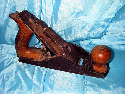 Vintage Stanley Defiance Wood Plane No. 3 Size 9 inches Smooth