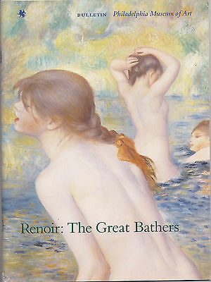 "Philadelphia Museum of Art ""Renoir:The Great Bathers ""Magazine from the Bulletin"