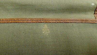 Rare Vintage Cloth Holder For Cross Pen Army Green