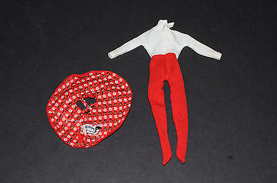 VINTAGE Barbie Skipper - Skating Fun Outfit Mattel No. 1908 (1964-66) Body Suit