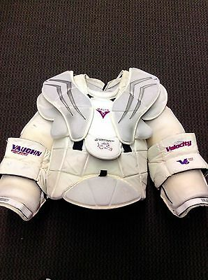Vaughn Velocity V6 2200 Chest Arm Protector Goalie Pro Stock Custom Xl Malcolm