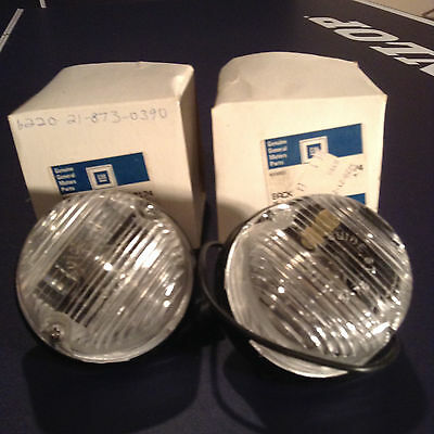 NOS  PAIR OF Chevrolet Truck Back Up Lamp & Lens GENUINE GM Part # 917174