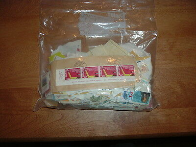 worldwide envelope of used stamps about 200 or more grams #5