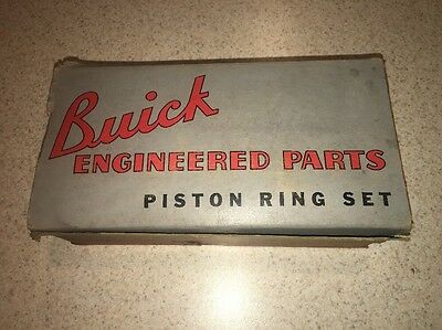 Vintage Buick Piston Ring Set 1940s / Sign / Advertising Display Gas Station #2