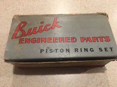Vintage Buick Piston Ring Set 1940s / Sign / Advertising Display Gas Station #3