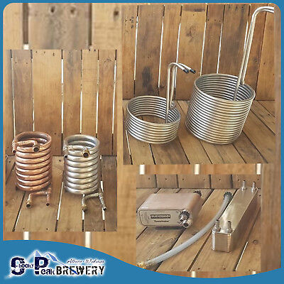Wort Chiller Variations - Grainfather / Coil Immersion / Mash Tun / Brew Kettle