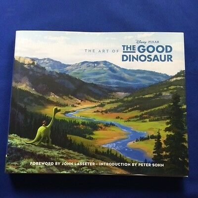 The Art Of The Good Dinosaur - First Edition Signed By Director And Producer