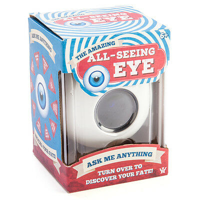 The Amazing All Seeing Eye Ball - Magic 8 Eye Ball - Decision Making Fate Fun