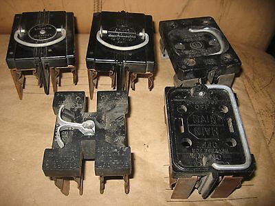 5  Vintage mixed lot  Fuse Pullout Holder pull fuses lot antique ,.