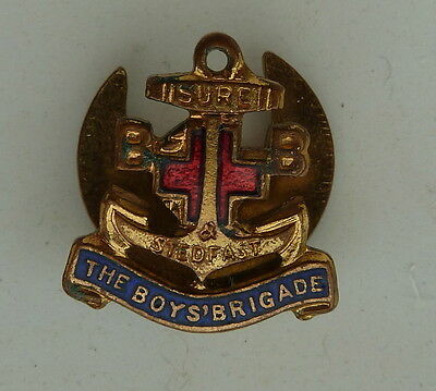 The Boys' Brigade 1920's Sure Stedfast Buttonhole Vintage Pin