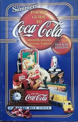 ANTIQUE COCA-COLA VALUE GUIDE COLLECTOR'S ID BOOK Bottle Can Tray Toy Door Push+
